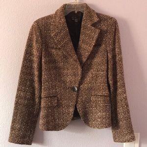 Vintage cream/brown Zara jacket